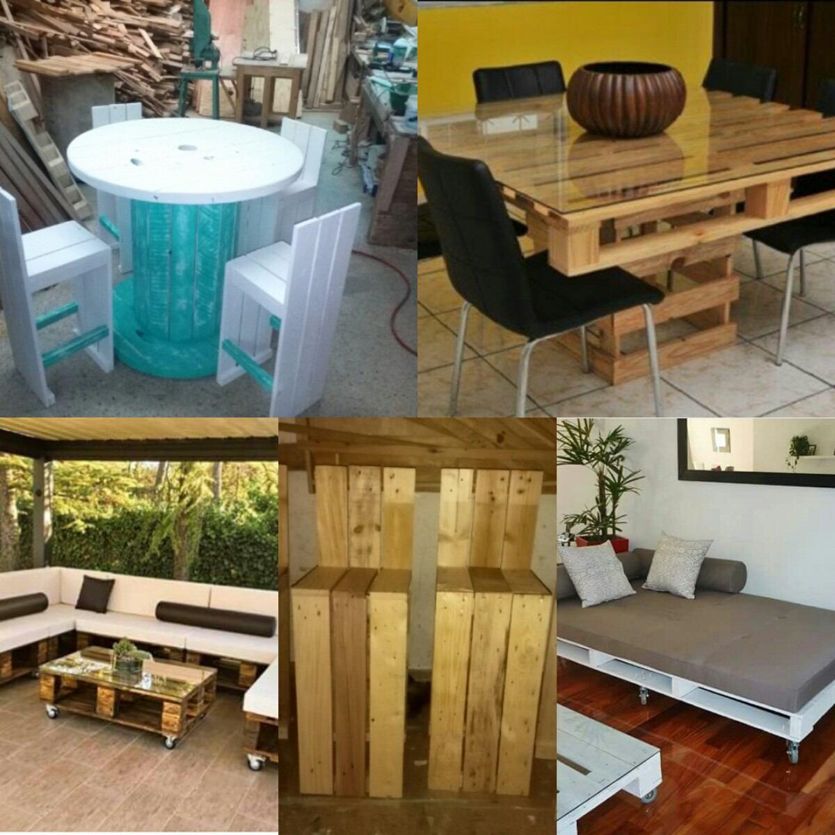 Muebles Con Estibas Rstico O Terminados   1100 en