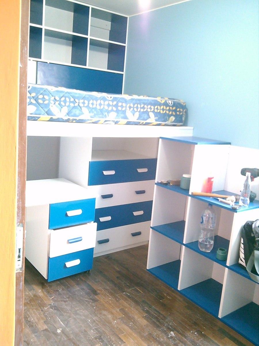Muebles De Melamina Para Dormitorio  S 100 en Mercado Libre
