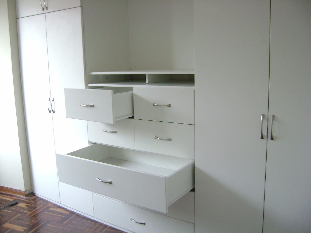 Muebles De Melamina Para Dormitorio  S 100 en Mercado