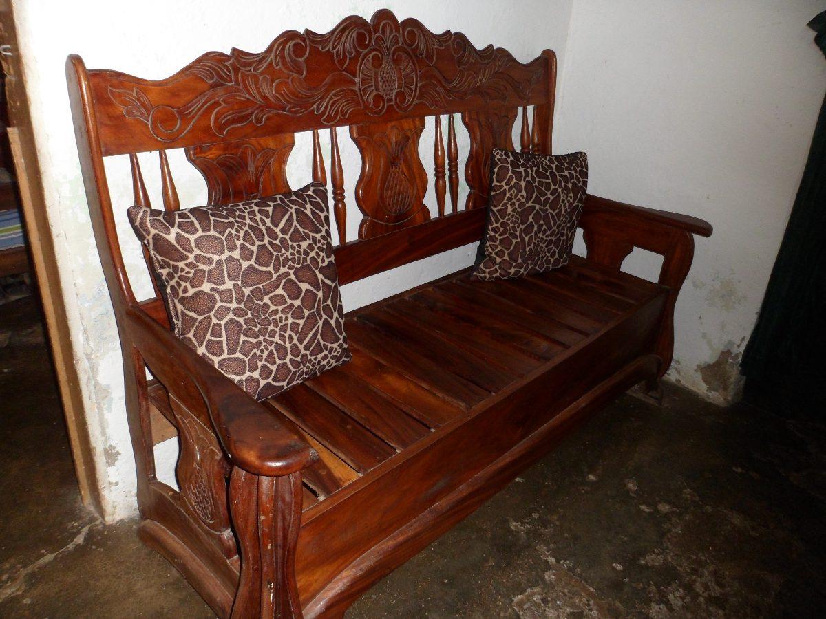 Muebles De Madera Country Juego De Sala De Saman  Bs 90