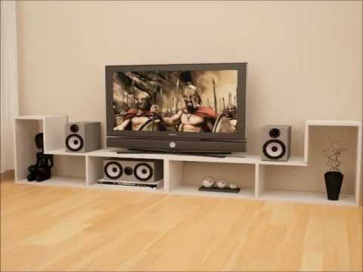 Muebles Modulares Minimalistas Para Tv pc Audio