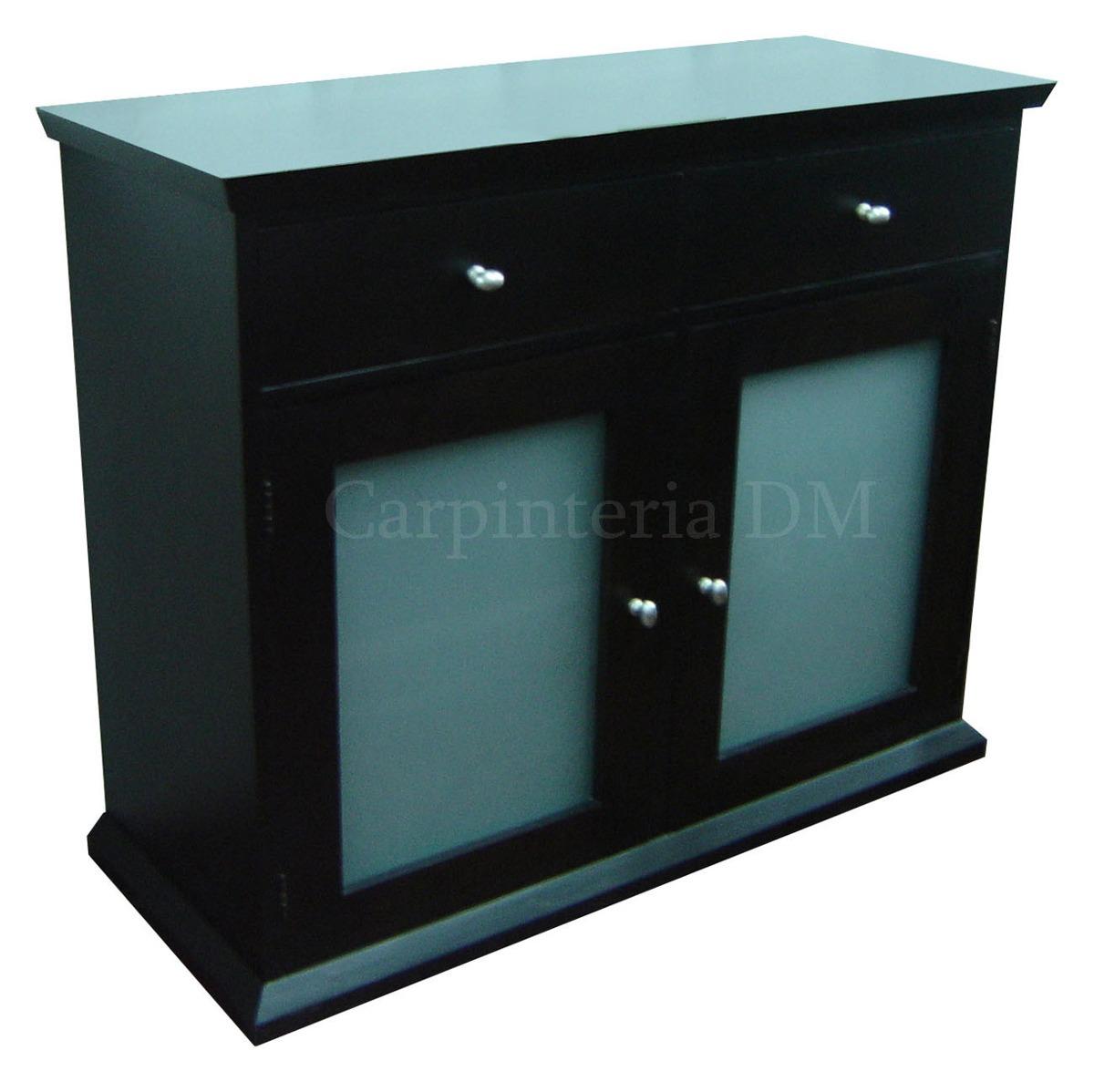 Muebles Modulares Vajillero Comedor Wengue 160cm   15