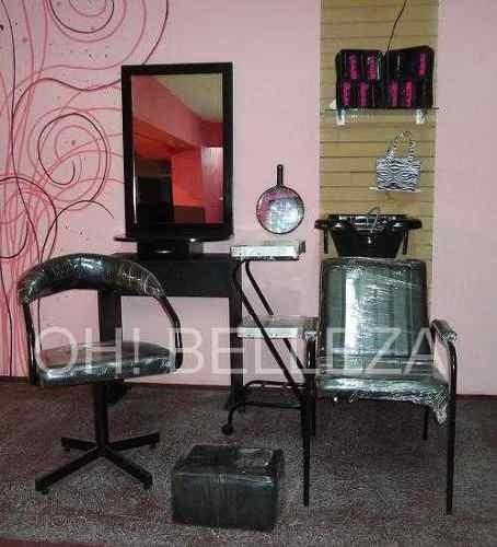 Muebles Para Estetica  Equipo Basico 7 Pzs   699000