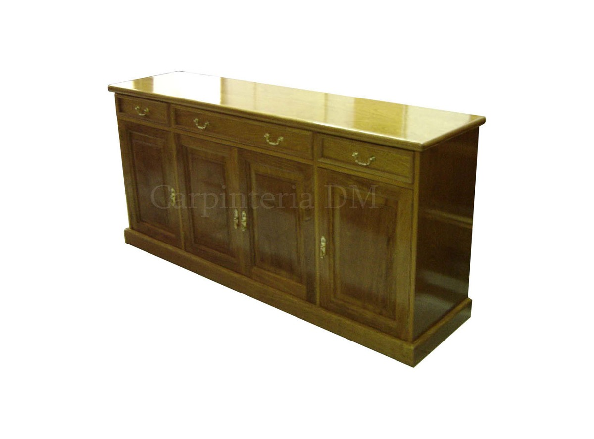 Muebles Para Living Comedor Vajillero Roble   2727000
