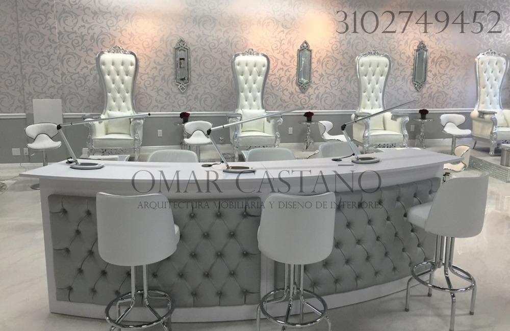 Muebles Para Spa De Uas Y Salas De Belleza  en Mercado Libre