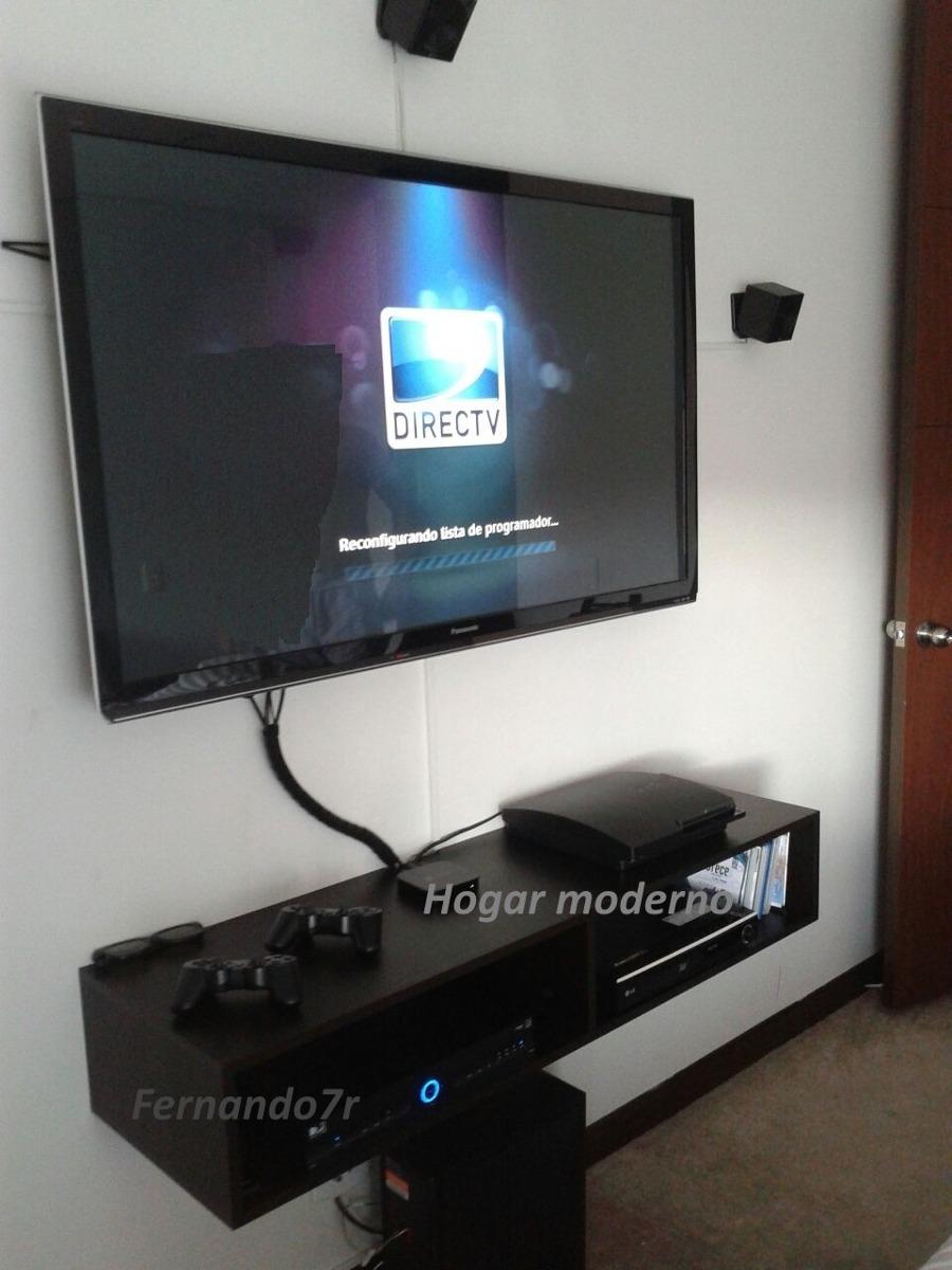 Muebles Para Tv Flotante   145000 en Mercado Libre