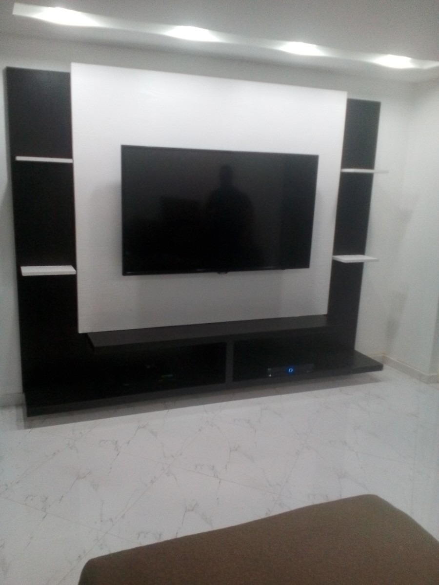 Multimueble Repisas Area Para Tv De 45 A 65 Pulgadas  Bs