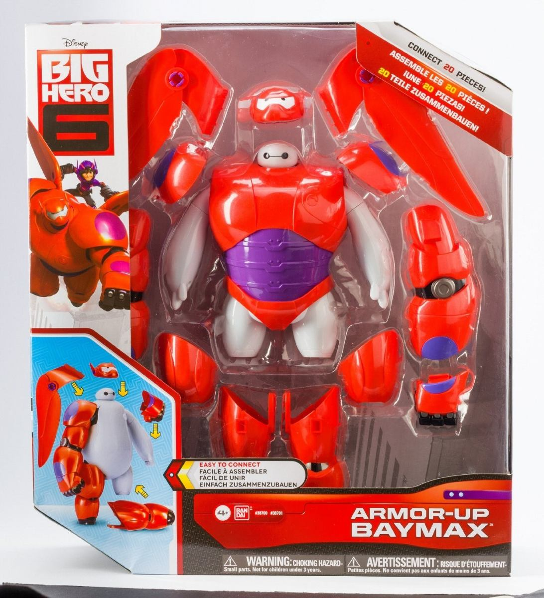 Muneco Big Hero 6 Armor Up Baymax Action Figure