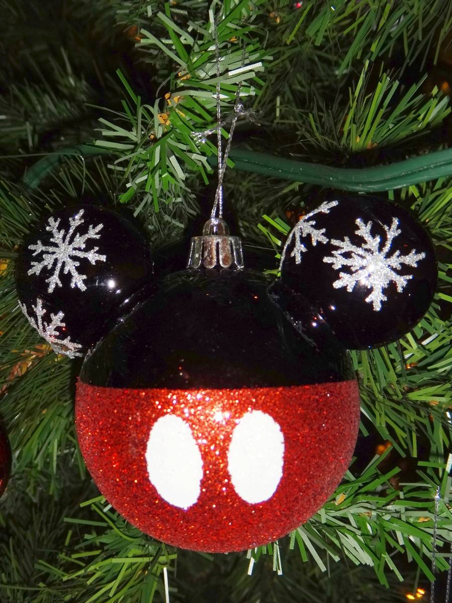 Navidad Esferas Decoracin Navidea Mickey Mouse Disney