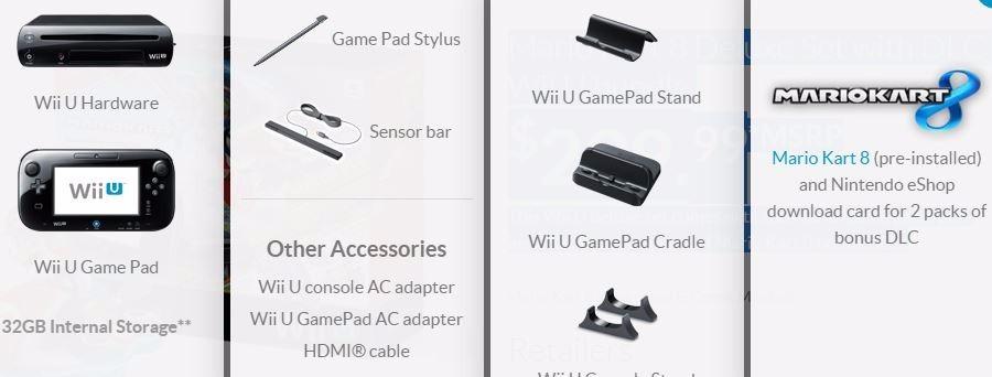 Nintendo Wii U 32gb Deluxe Mario Kart 8- Envio Já- Retire