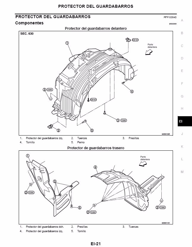 Manual De Taller Nissan Pathfinder R51 Libro Pdf En