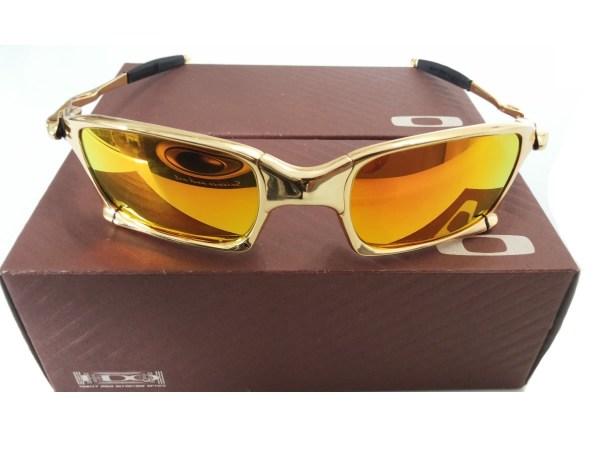 119b423f29e9b Oculos Oakley Juliet 24k Double X Squared Dourada Gold - imgUrl