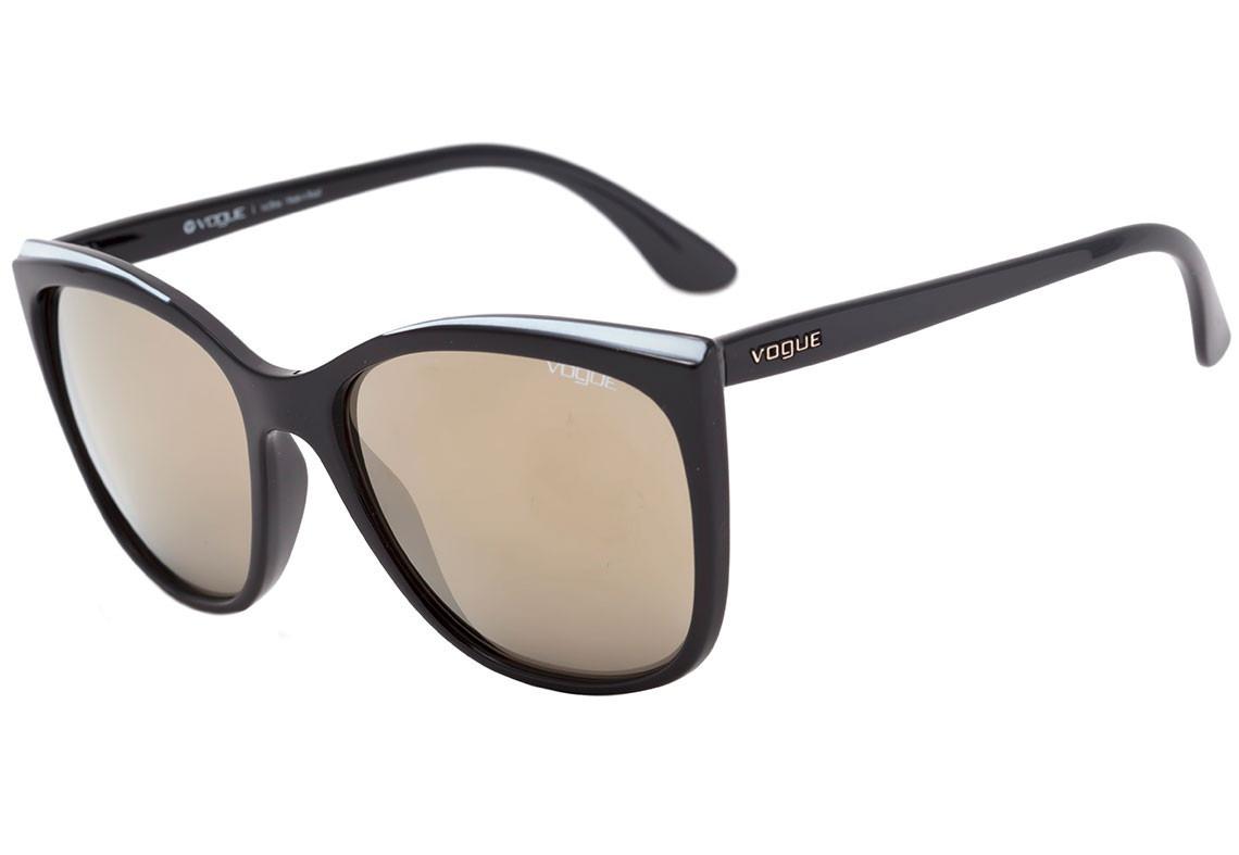 Oculos De Sol Vogue   Óculos Sol Vogue Vo4080s 5074h7 58mm Degradê ... d17620f84d