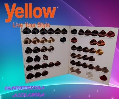 Oferta Gama De Mechas De Colores Tinte Yellow   30900 en Mercado Libre