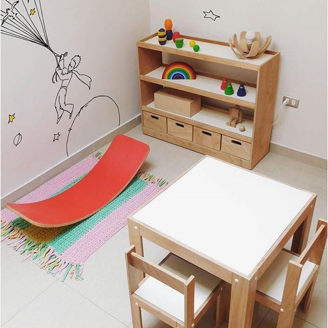 Organizador Para Juguetes Con Cajones Montessori   175