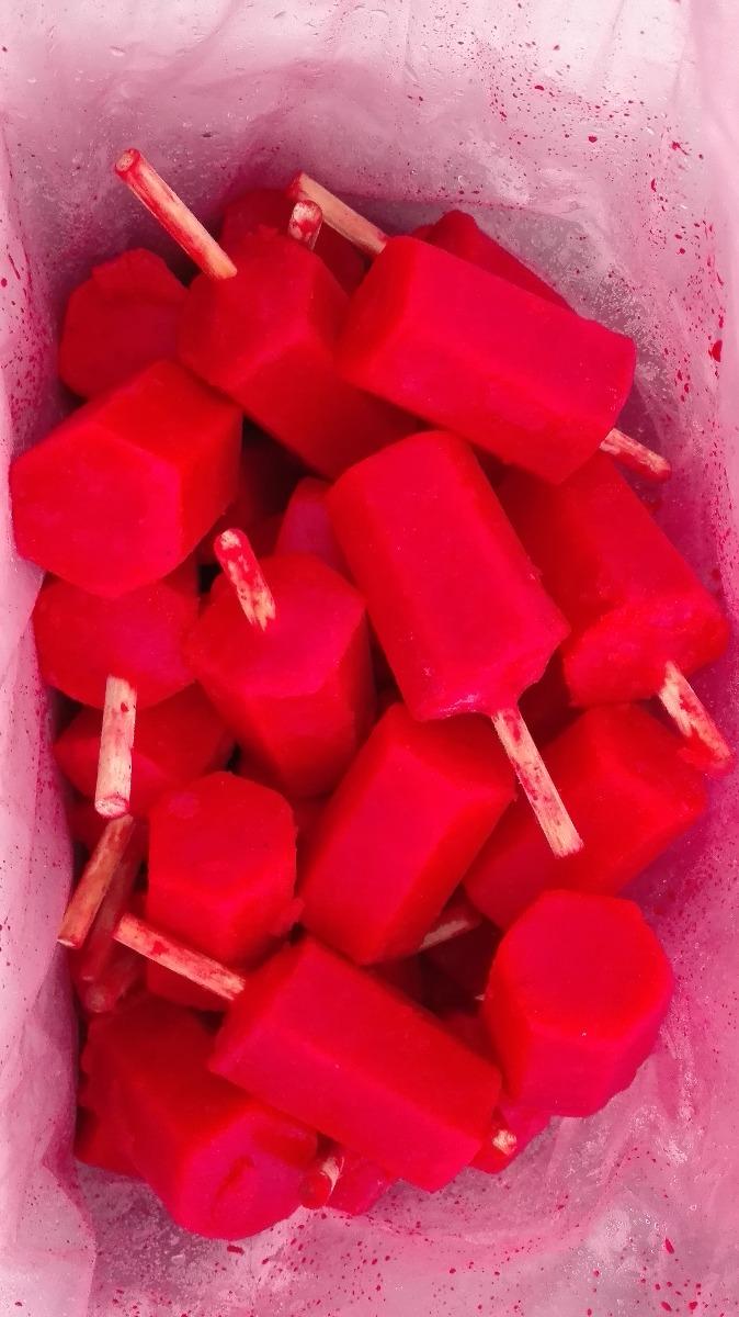 Paletas De Hielo Hexagonales Mayoreo   395 en Mercado Libre