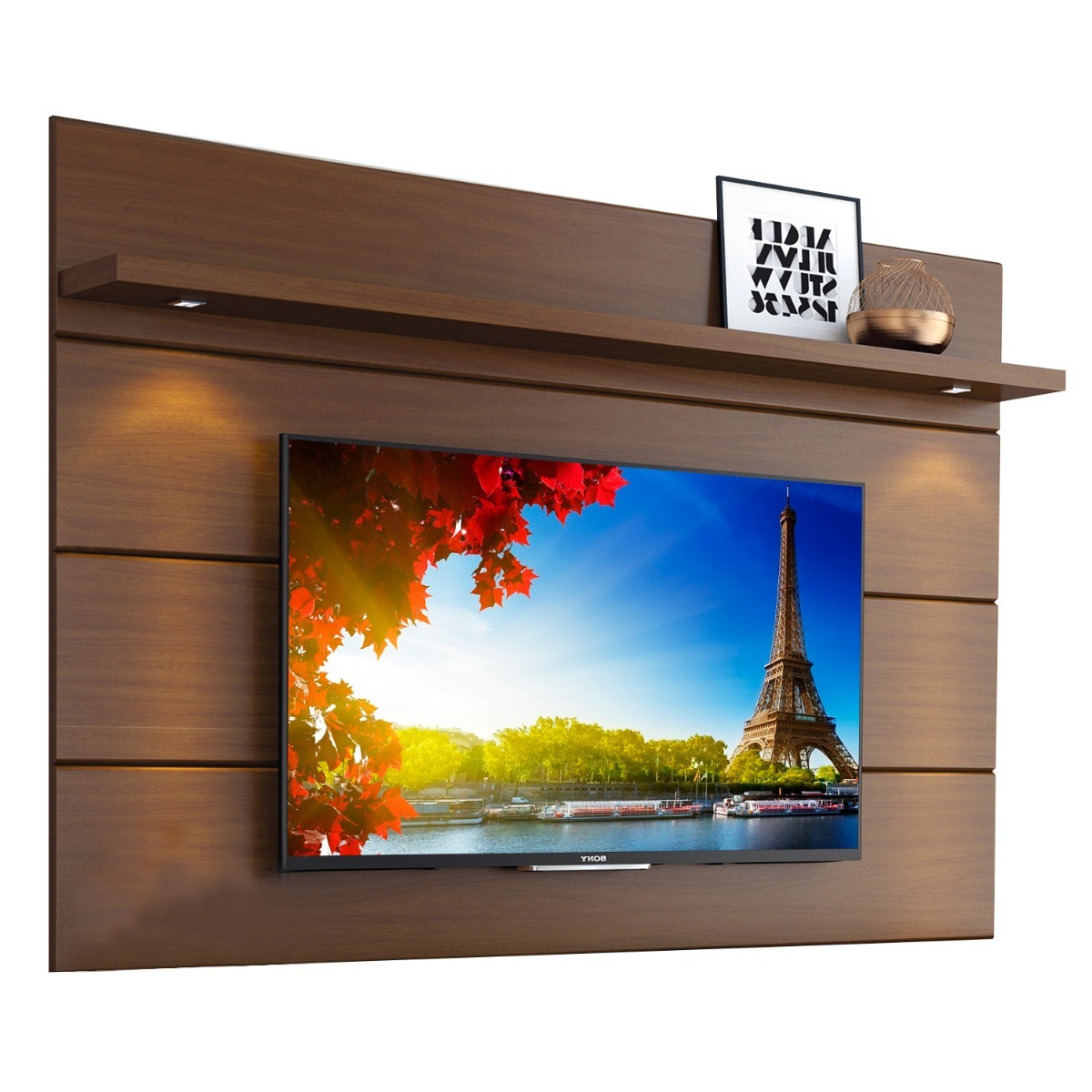 Mueble Tv Pared Panel Colgante Mueble Tv Led 60 De Pared 1 8 Horizon Mdf