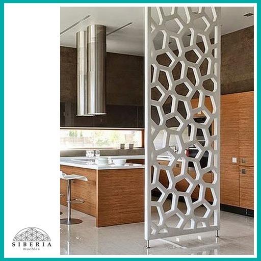 Paneles Decorativos De Madera Mdf Routeado Cnc Divisores   9000 en Mercado Libre