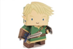 Papercraft imprimible y armable de Link. Manualidades a Raudales.