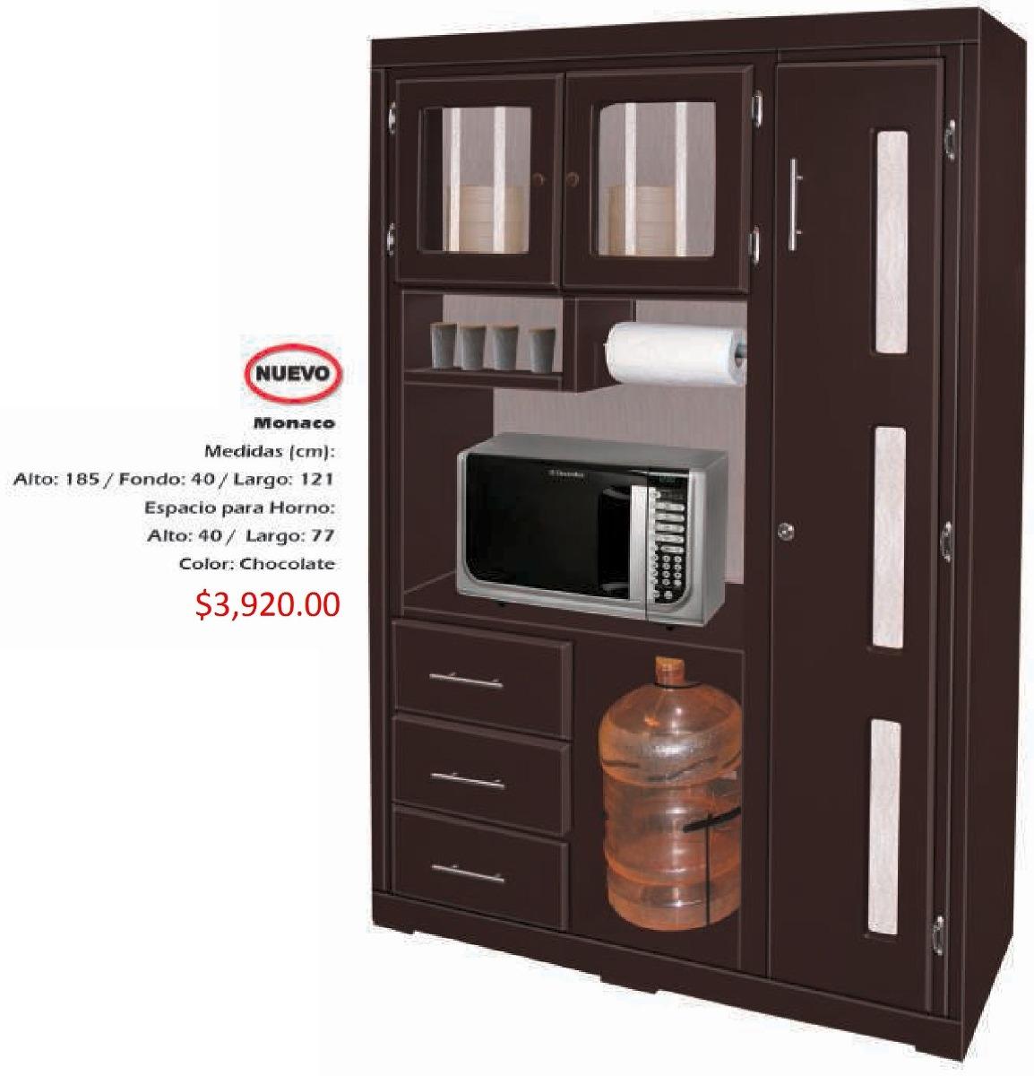 Mueble Para Cocina Modelo Monaco   392000 en Mercado Libre