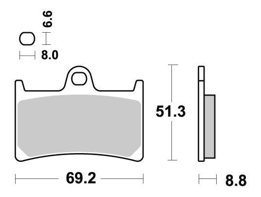 Pastilha De Freio Dianteiro Yamaha Yzf 1000 R1 Ano 98 A