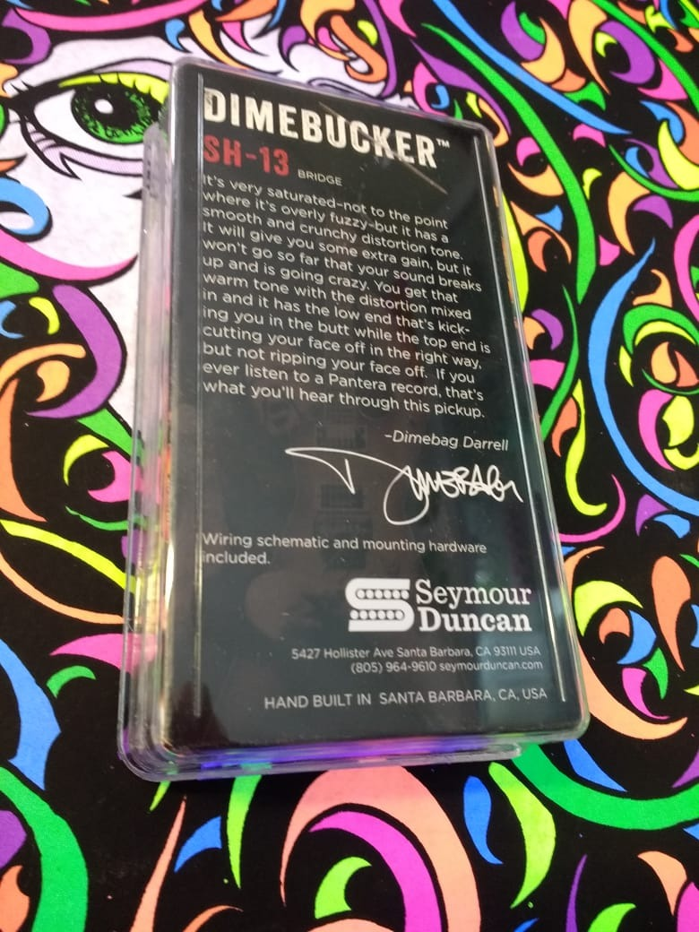 hight resolution of  seymour duncan modelo dimebucker cargando zoom