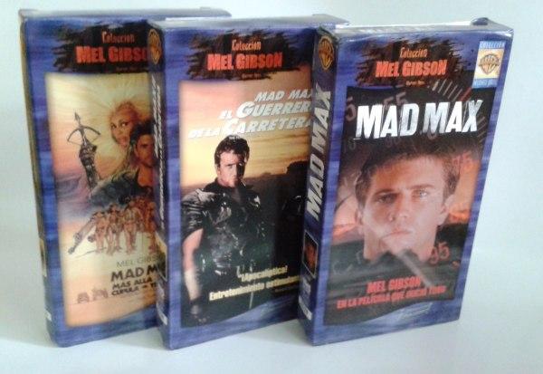 Peliculas Vhs Trilogia Mad Max - 400.00 En Mercado Libre