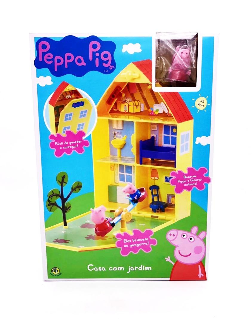 Peppa Pig Casa Com Jardim Dtc  R 12999 em Mercado Livre