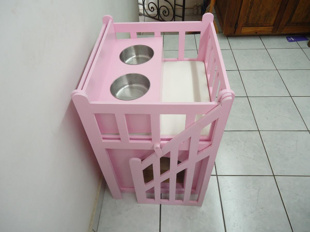 Casa Cama Para Perros Dos Pisos Mediana De Lujo Vbf
