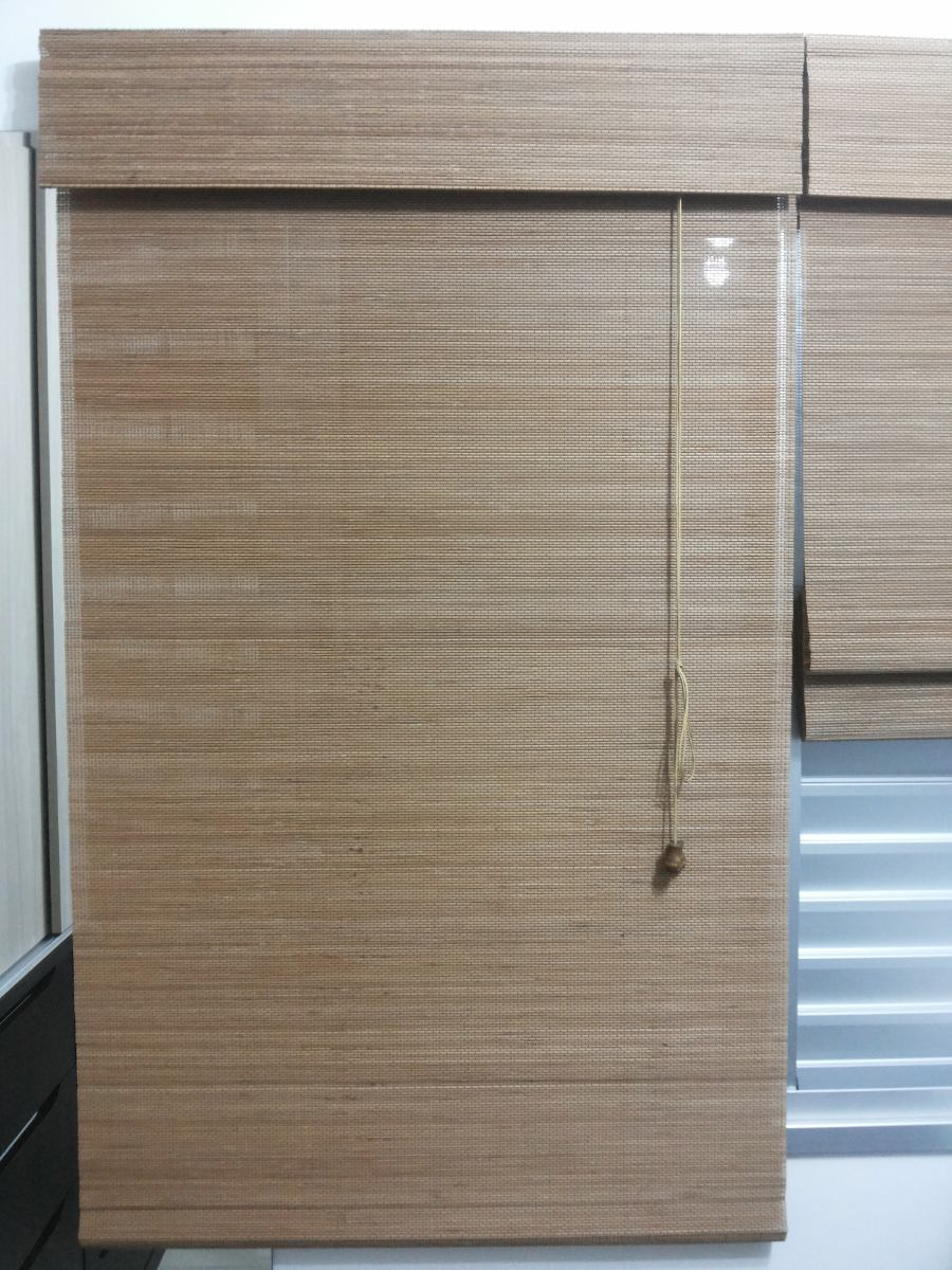 Persiana Roman Shade Hawaii Cortina Bambu 80 X 160 Cm Freij  R 14000 em Mercado Livre