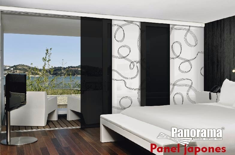Persianas Y Cortinas Sheer Elegance Panel Blackout