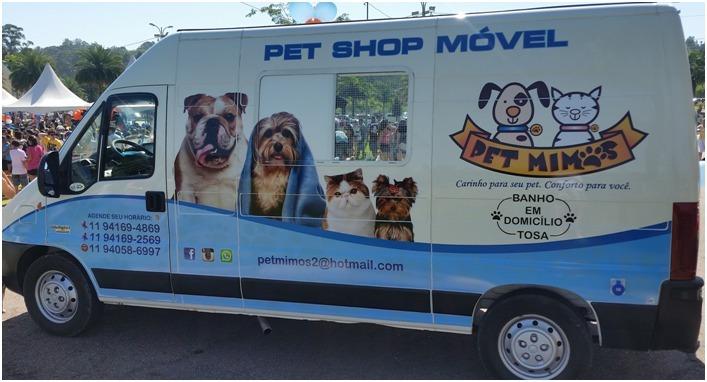 Pet Movel  Pet Shop Movel  Banho E Tosa  R 3999000