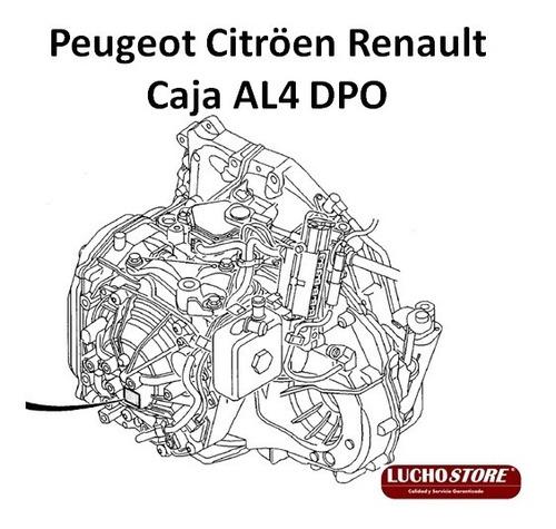 Peugeot Citroen Renault Caja Automática Al4 Dpo
