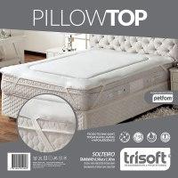 Pillow Top Para Colches Solteiro Fibras Petfom - Trisoft ...