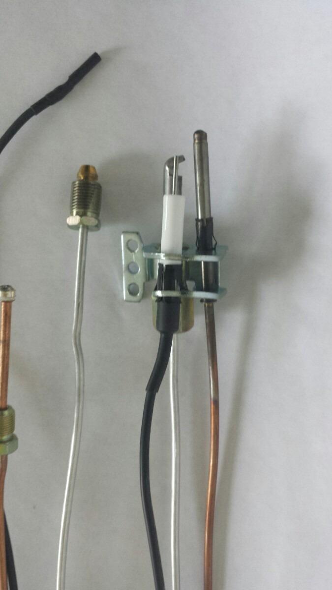 Piloto Termocople Y Electrodo 24 Pulgadas Para Boiler