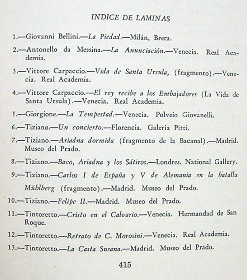 Pintores Italianos Del Renacimiento Monografía Ilustrada