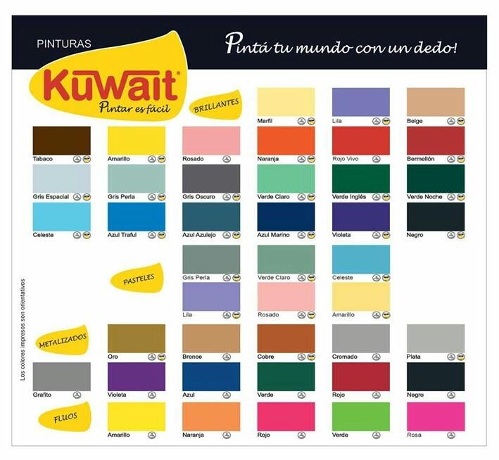 Pintura En Aerosol Kuwait Colores Fluo X 240 Cc   199