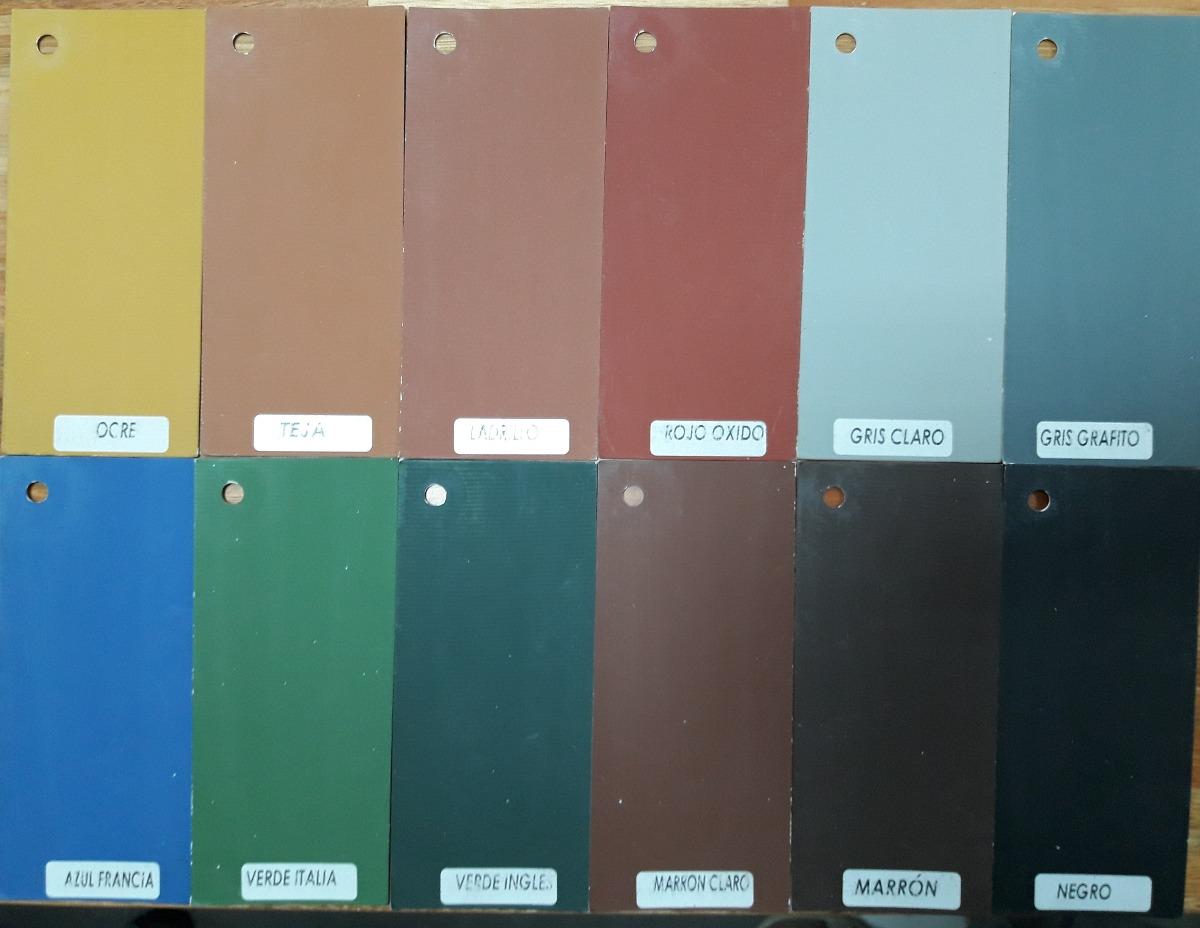 Pintura Para Piso Exterior  Interior Colores Varios 1 Lt