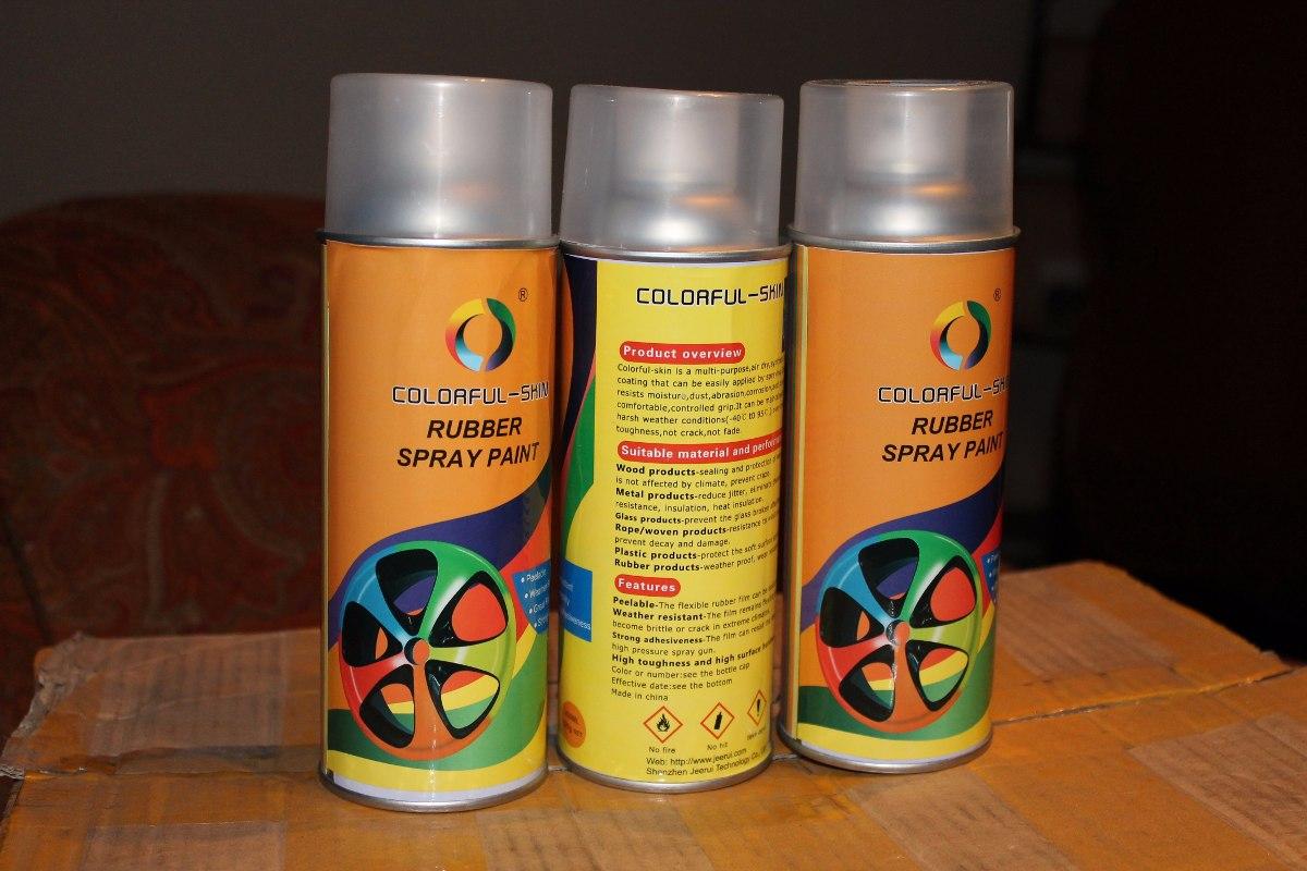 Pintura Plastica Removible Spray  31000 en Mercado Libre