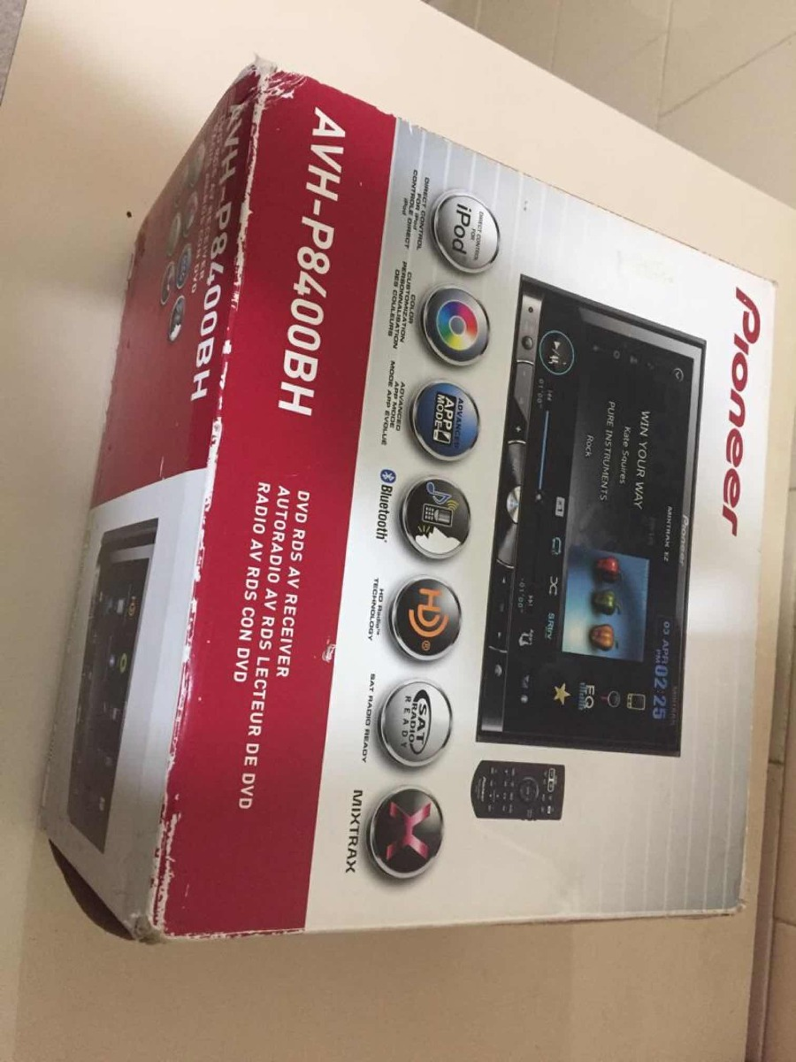 medium resolution of pioneer avh p8400bh cargando zoom