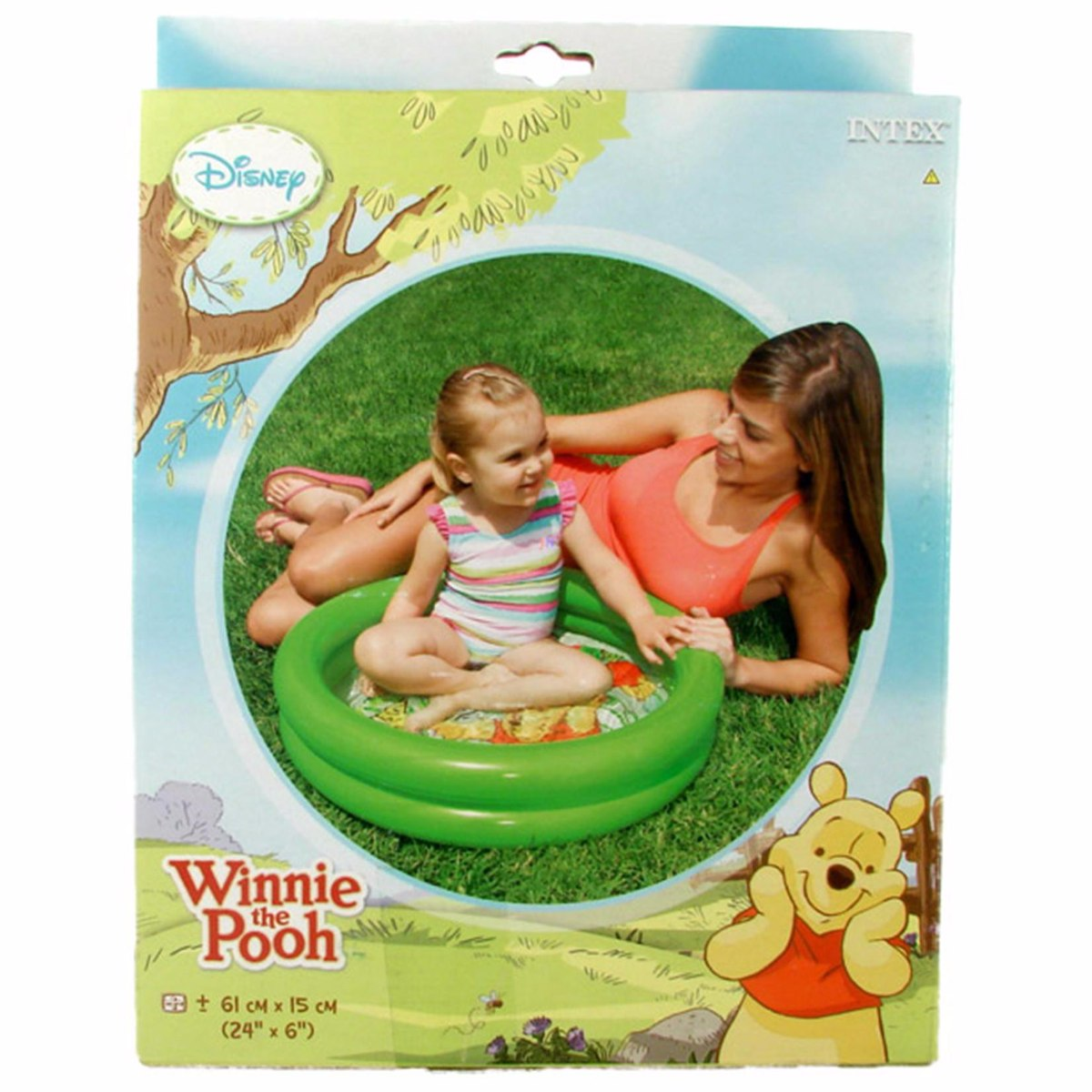 Piscina Bebe 6 Meses Piscina Inflable Bebes Niños 61x15cm Winnie The Pooh 58922