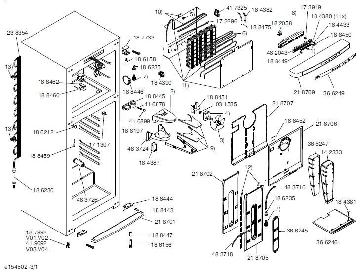 Placa Eletronica 127v Refrigerador Bosch Ksu40 Ksu43 Ksu44