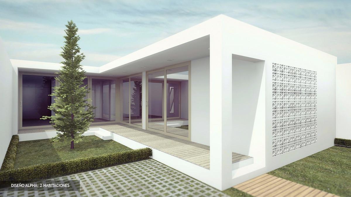 Plano Casa Minimalista Facil Construccion Y Economica