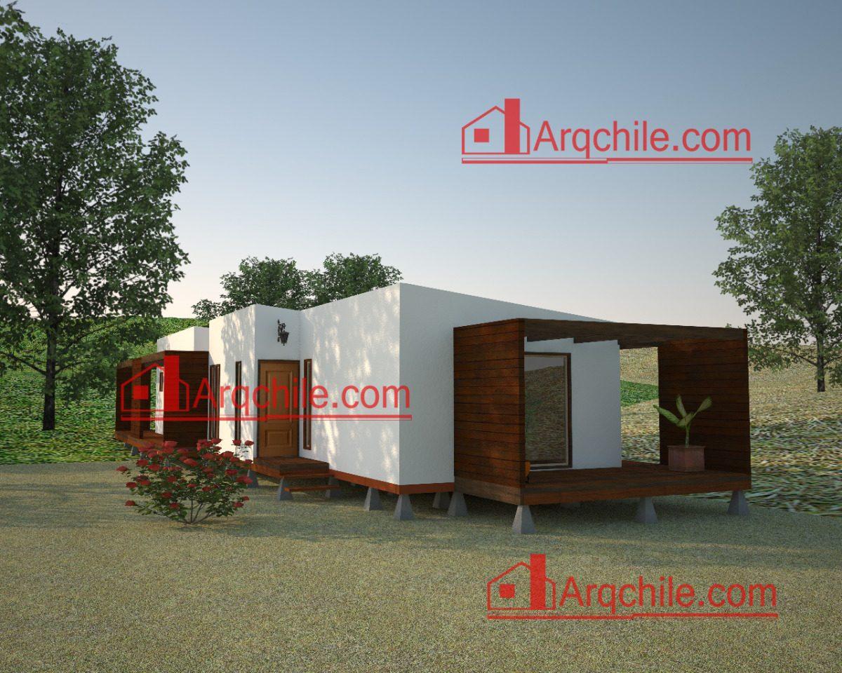 Planos De Casa Prefabricada 92 Metros Cuadrados   90000 en Mercado Libre