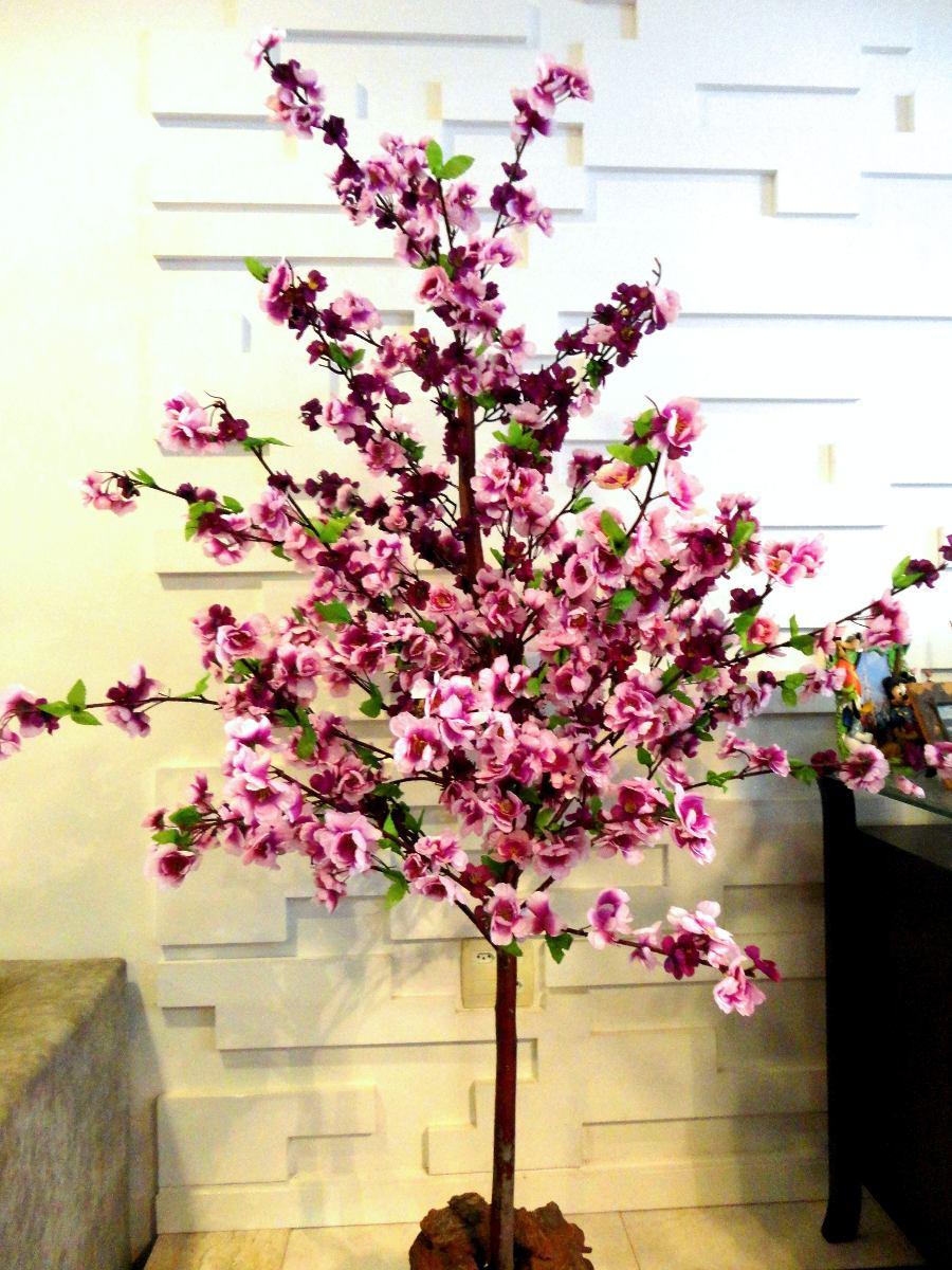 Planta Artificial  rvore Pessegueiro Roxovioleta 16mt