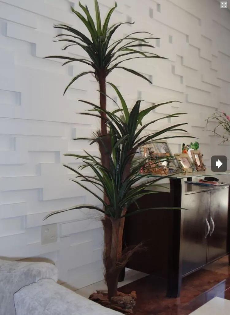 Planta Artificial Arvore Yucca Real Toque 177 Frete