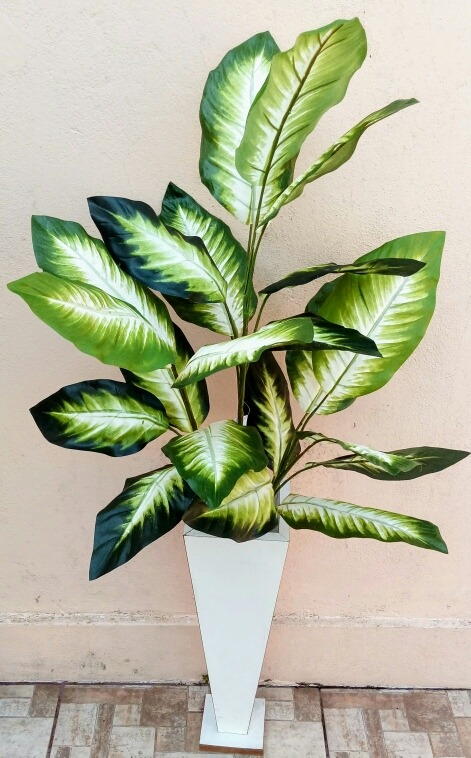 Planta Folhagem Arvore Verde Artificial Sem Vaso Flor  R