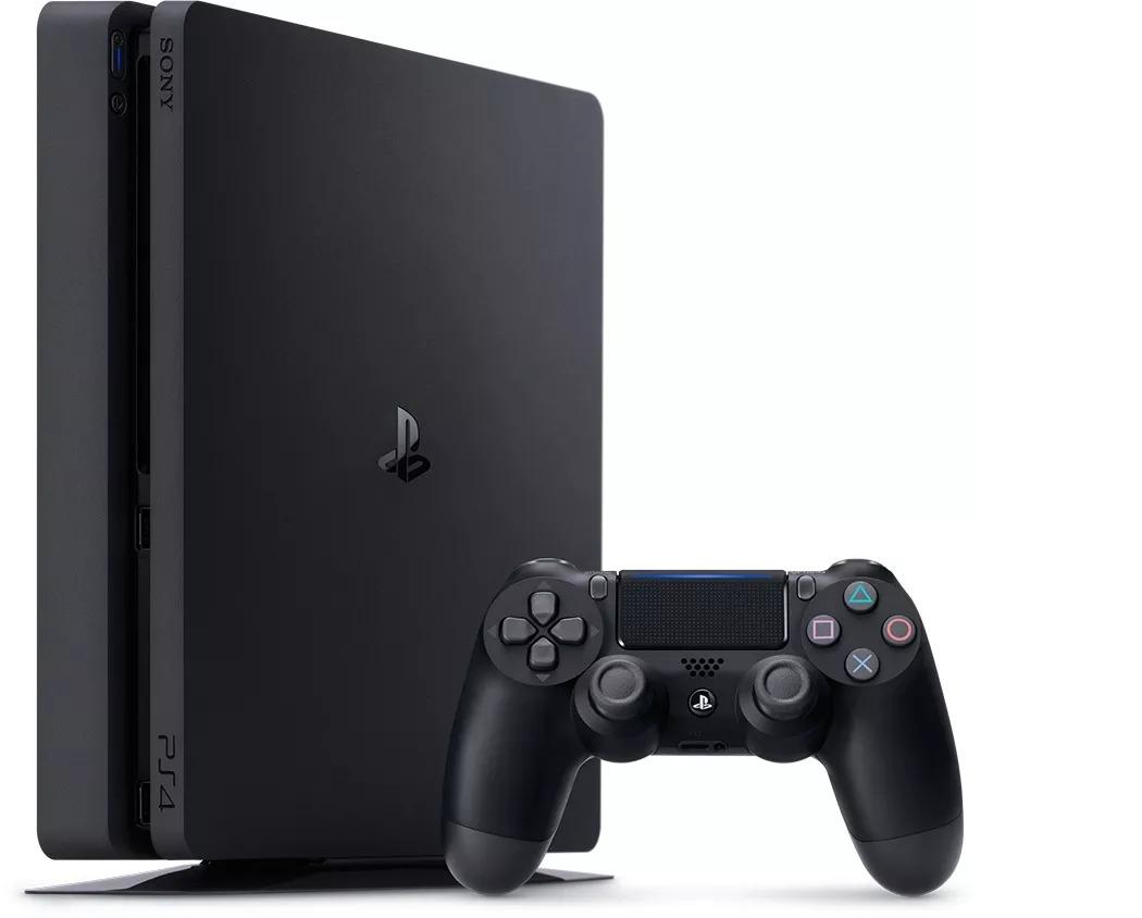 Playstation 4 Slim 500gb Sony Ps4 Slim Bivolt 2 Controle - R$ 2.384.19 em Mercado Livre