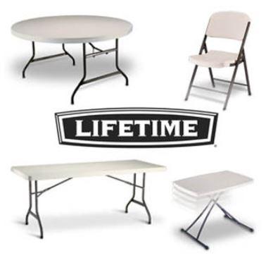 Sillas Plegables Lifetime Usadas