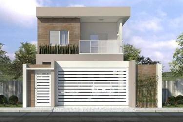 sobrado casa planta terreno 10x20 pronto um arquitetura